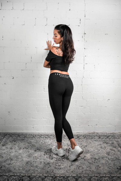 Illusion Flex Leggings V2 midnight black