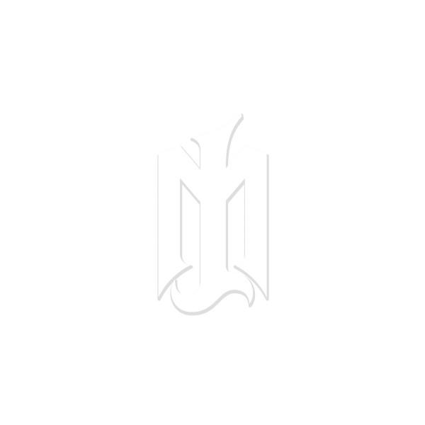 Brand Logo Sticker weiss